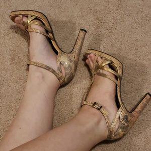 BCBG Leather Heel